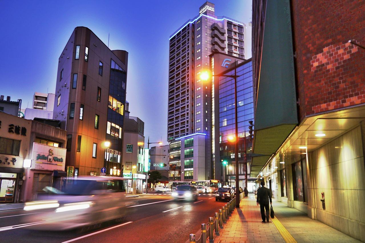 北九州市街