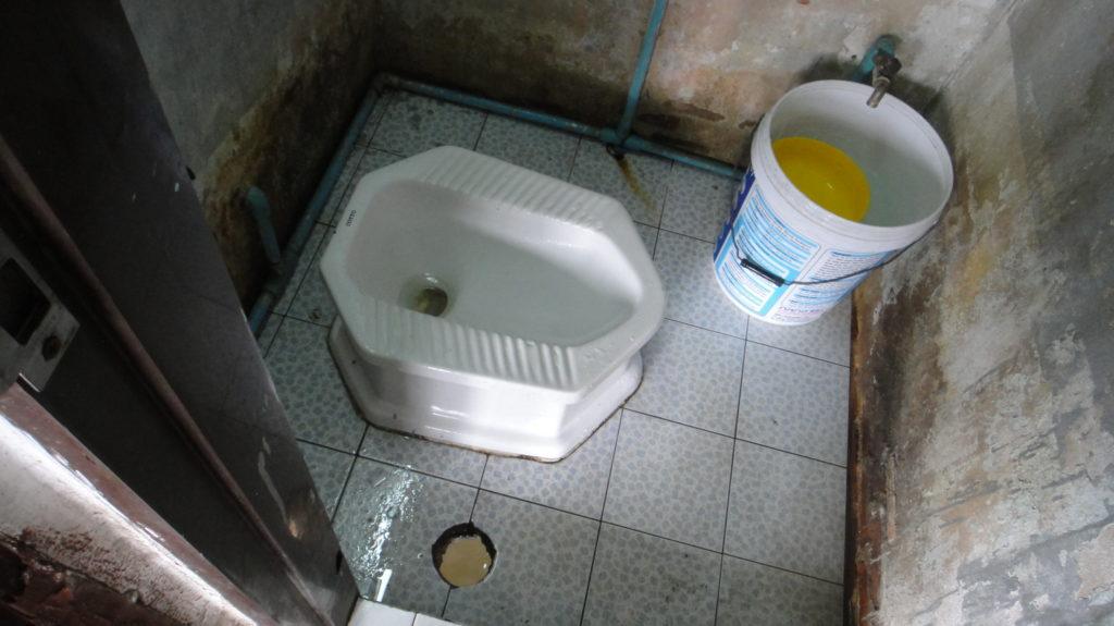 タイ古式トイレ