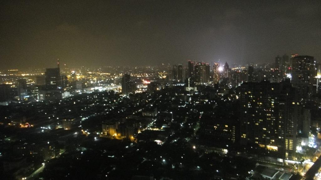 ルーフトップバーからの夜景