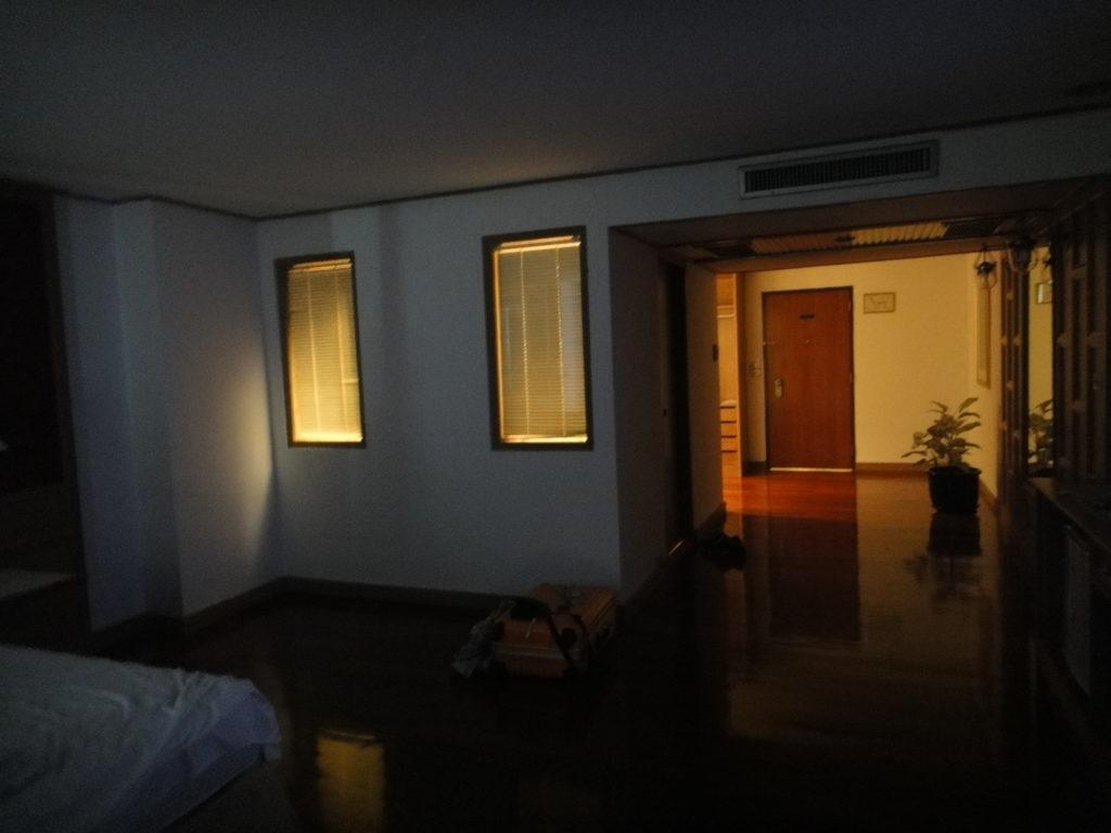 モンティエンホテル部屋