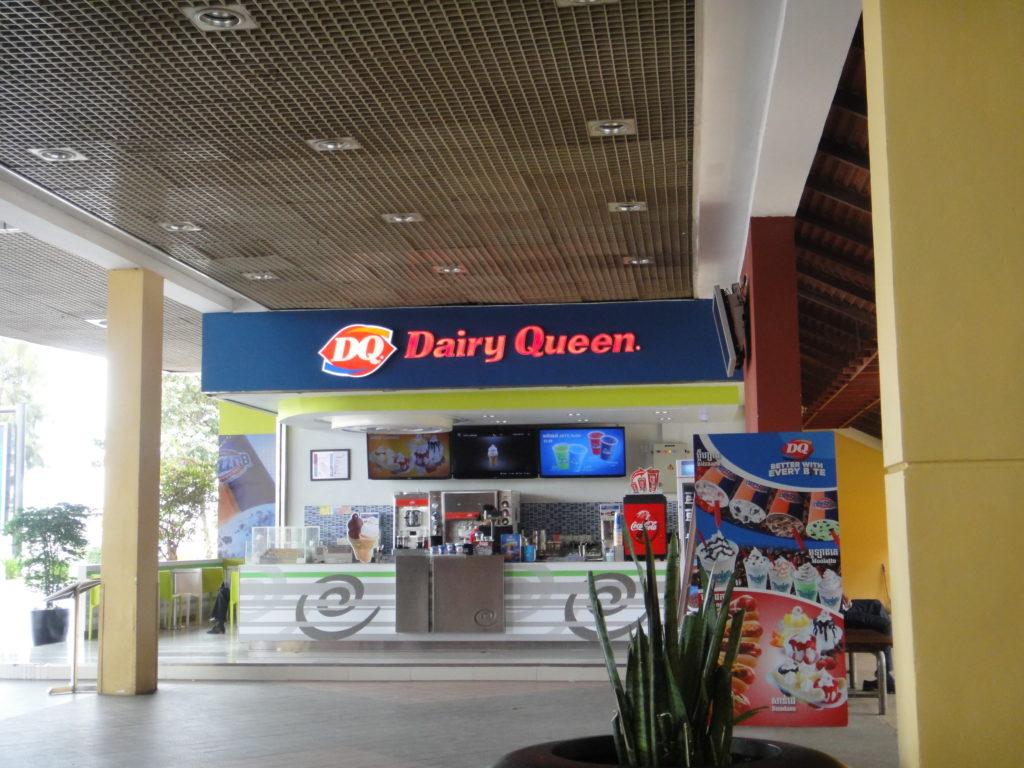 プノンペン空港 Dairy Queen