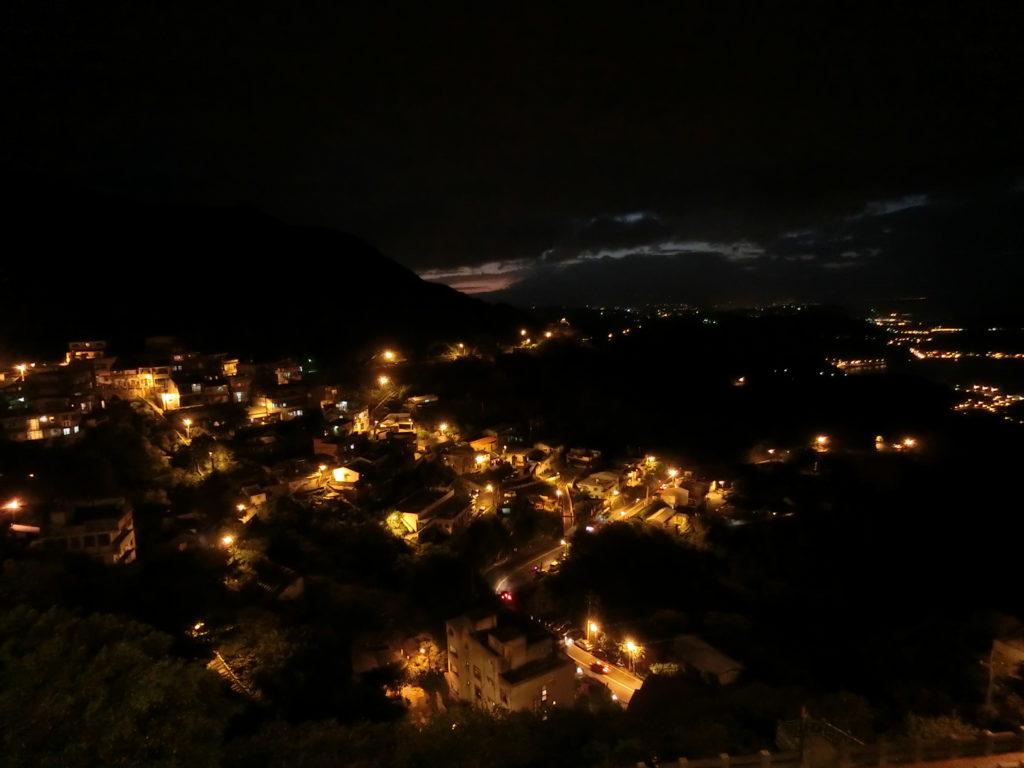 九份からの夜景
