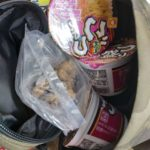 キャビンゼロ Cabin Zero 44 L をスーパーのマイバッグ代わりに使って色々詰め込んでみた。