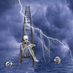 Ladder Skeleton Skulls Bones  - susan-lu4esm / Pixabay